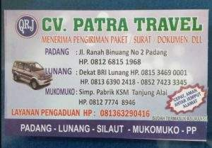 Travel Padang Mukomuko Bengkulu