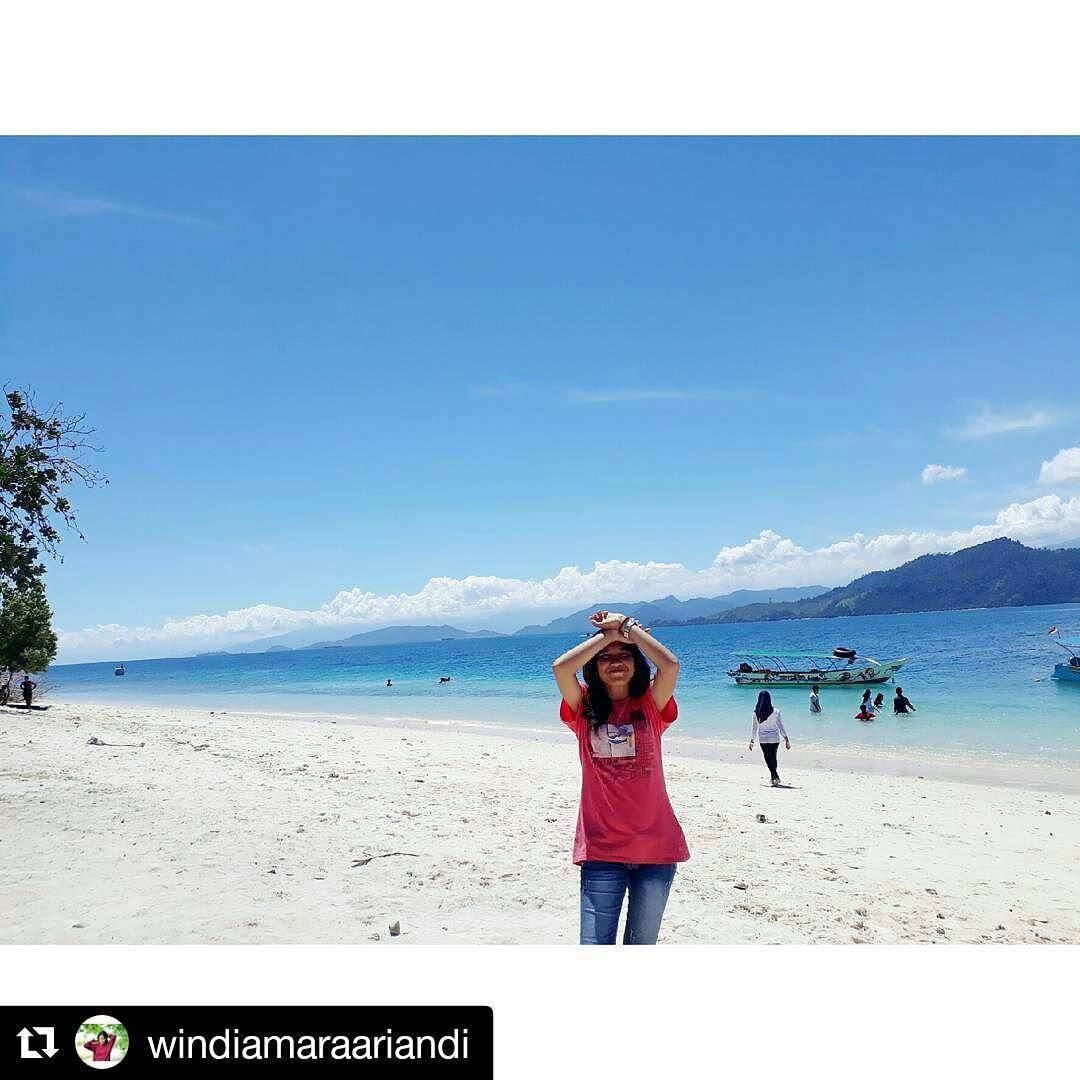 wisata pulau sirandah island Padang