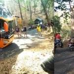 Kejadian Tersesatnya Bus Pariwisata Sudiro Tunggal Jaya